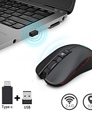 cheap -USB Wireless 2.4G Optical Gaming Mouse 4 Adjustable DPI Levels color luminous mouse gaming Mice
