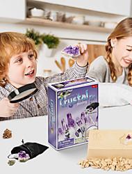 Недорогие -DIY игрушки Раскапывать Хрустальная скала Dig Kit Game Обучающая игрушка Веселая Штукатурка для Детские Взрослые Все Мальчики и девочки