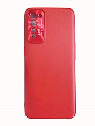 Недорогие -однотонный кожаный чехол для телефона для oppo reno3 a11x a52 a92s