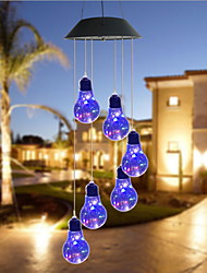cheap -1pc 0.5 W Lawn Lights Decorative Adorable Change 1.2 V Outdoor Lighting 6 LED Beads Christmas New Year's