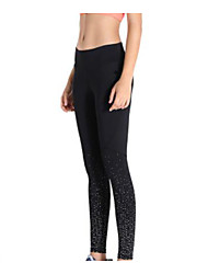 cheap -Women's High Waist Yoga Pants Leggings 4 Way Stretch Breathable Quick Dry Black Non See-through Yoga Pilates Sports Activewear High Elasticity Skinny / Moisture Wicking / Full Length