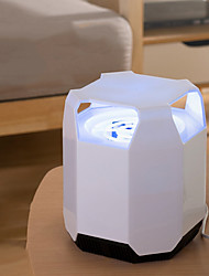 cheap -Square Anti-mosquito Lamp LED Smart Light Insect Mosquito Fly Killer / with USB Cable USB