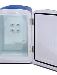Недорогие -4л авто автомобиль лодка домой мини пиво / напиток / вино кулер с подогревом холодильник кемпинг холодильник AC / DC