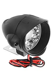 cheap -12V-80V 6 LED Front Headlights Strong Brightness Shark Shape Motorcycle Far Illumination