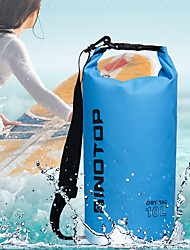 cheap -3/5/10/15/20 L Waterproof Dry Bag Lightweight Floating Roll Top Sack Keeps Gear Dry for Swimming Surfing Water Sports