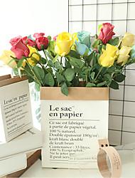 Недорогие -48 см пу розы чувствовать моделирования цветок поддельные украшения дома свадьба 1 палка