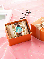 cheap -Women's Quartz Watches Quartz New Arrival Diamond Analog Rose Gold / Chronograph