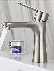 Недорогие -304 из нержавеющей стали одного холодного бассейна кран ванной щеткой умывальник для рук одного холодного небольшой талии кран