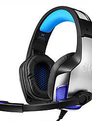 cheap -KOTION EACH G5300 Gaming Headset Wired Stereo Dual Drivers with Microphone Volume Control InLine Control for Gaming