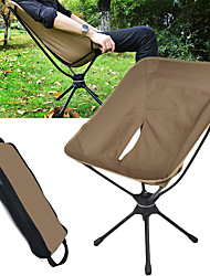 cheap -Camping Chair Portable Foldable Washable Comfortable Aluminum Alloy Oxford for 1 person Fishing Beach Camping / Hiking / Caving Traveling Autumn / Fall Summer Grey Khaki Green Blue