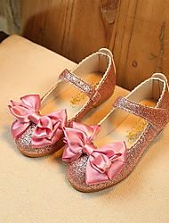 cheap -Girls' Comfort PU Flats Little Kids(4-7ys) Purple / Pink / Gold Spring / Summer