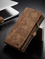 cheap -CaseMe Multifunctional Luxury Business Leather Magnetic Flip Case For Samsung Galaxy A71 / A51 / S20 / S20 Plus / S20 Ultra With Wallet Card Slot Stand 2-in-1 Detachable Case Cover