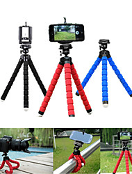 cheap -Phone Tripod Mini Flexible Octopus Tripod For iPhone Samsung Xiaomi Huawei Mobile Phone Smartphone Mini Portable Tripod Holder