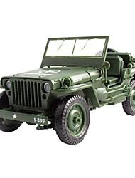 cheap -KDW 1:18 Plastic Metal Police car Car Simulation Parent-Child Interaction Boys' Kids Car Toys