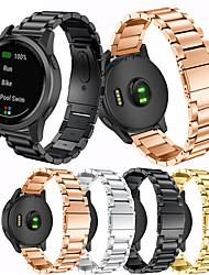 cheap -Sport Style Steel Smart Bracelet for Garmin Vivoactive 4S Fashion Steel High Quality Strap Watch Band for Garmin Vivoactive 4S