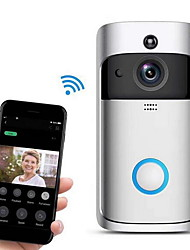 cheap -Wsdcam Smart Doorbell Camera Wifi Wireless Call Intercom Video-Eye for Apartments Door Bell Ring for Phone Home Security Cameras