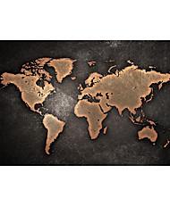 ieftine -imprimeu panouri laminate pe panou - peisaj natura mortă artă modernă tipărește alb-negru model de hartă mondială afiș și imprimeuri pe tablou clasic tablou tablou pentru decorarea camerei de zi fără