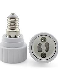 cheap -G14 to GU10 2A 250V Base LED Light  Lamp Bulb Fireproof Holder Adapter Converter Universal Light Converter Socket Change *1pc