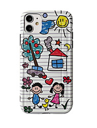 cheap -Case For Apple iphone 11/pro11proMax/x/XS/XR/XSMax/8p/8/7P/7/SE(2020)Cover TPU Cartoonsoft shell  iphone case set