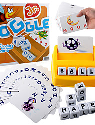 cheap -Educational Flash Card Matching Letter Game Picture Word Matching Game Educational Toy Letter Spelling Letter Reading Game Improve Memory Plastics Kid's Preschool Cute Kits Non Toxic 30 pcs 3-6 Y