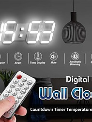 cheap -FM Radio Alarm Clock - Electronic Snooze USB Mobile Phone Charging Base Clock for Hotel Room Bedside