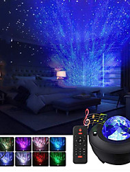 cheap -Baby & Kids' Night Lights Music Moon Star LED Lighting Light Up Toy Glow 5 V USB Kid's Adults for Birthday Gifts and Party Favors  1 pcs