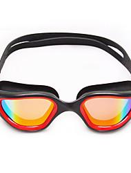 Недорогие -плавательные очки плавательные очки Противо-туманное покрытие Удобный Защита от солнца Безопасность Для Взрослые UV Поликарбонат желтый белый зеленый