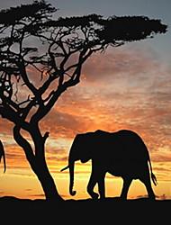 Недорогие -слон diy цифровая живопись маслом по номерам комплект на холсте краска по номерам животных предварительно напечатаны уникальный подарок для детей, взрослых