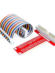 cheap -Raspberry Pi 3&Raspberry Pi Model 3B T expansion DIY kit (40Pin GPIO cable  T GPIO Breakout Expansion Adapter Board