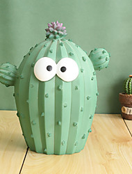 cheap -Piggy Bank / Money Bank Floral Theme Cactus Creative For Teenager Children's Boys' Girls' / 14 Years & Up