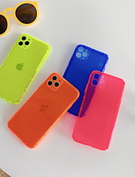 cheap -Fluorescence Light TPU Case for Apple iPhone 11 Pro Max X XR XS Max 8 Plus 7 Plus 6 Plus SE Back Cover