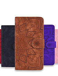 cheap -Case For Samsung Galaxy A11 A21 A31 A41 Wallet Card Holder with Stand Full Body Cases Flower PU Leather PU Leather for Galaxy A70 A50 A50S A30S A30 A20 A20E M10 M11 M31 Note10 Plus Note10