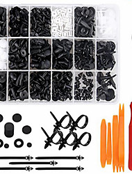 cheap -415 Pcs Auto Buckle Closure Car Bumper Clips Door Panel Rivet Fender Clip for Buckle Liner and Lever Installer Repair Tool Removal Kit