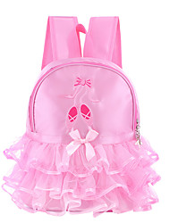 cheap -dance accessories backpack / duffel bag girls' training / performance lace / oxford cloth bowknot / lace-trimmed bottom / embroidery