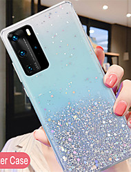 cheap -Luxury Glitter Case For Huawei P40 P40Pro P40Lite P30 P30Pro P20 P20 Lite Honor 20 20i 30 30Pro 30s Nova 7 7I 7SE 7Pro 6se 5iPro 5t 5z  Mate 30 30Pro 30Lite silicone cover