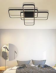 cheap -73cm LED Ceiling Light Square Geometric Shape Living Room Dining Room Bedroom Flush Mount Lights Aluminum Painted Finishes LED 110-120V 220-240V