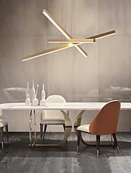 cheap -3-Light 80 cm Cluster Design Pendant Light Aluminum Painted Finishes Nature Inspired LED 110-120V 220-240V