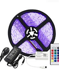Недорогие -brelong® 2m RGB полосы света 120 светодиодов smd5050 10 мм RGB водонепроницаемый / партия / декоративные 12 В 1 шт.