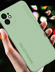 cheap -Text Silicone Case For iPhone 11 Pro Max Soft Cover Full Coverage Protect Phone Bag Case For iPhone 11 11Pro Back Cover