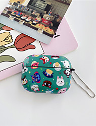 cheap -Cute Cartoon Silicone Soft Wireless Earphone Charging Case for Apple AirPods Pro 3 Bluetooth Cover Bag Box