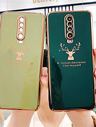 cheap -Phone Case For Xiaomi Back Cover Xiaomi Mi 10 Xiaomi Mi 10Pro Xiaomi Poco X2 Poco F2 Pro Plating Solid Color TPU