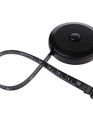 cheap -Measuring Tape Black 1.5m/60inch Dual Sided Retractable Tools Automatic Mini Sewing Measuring Tape