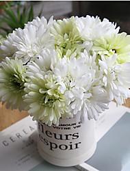 Недорогие -28см искусственный цветок гербера гербера искусственный цветок дома свадьба с цветами в руках