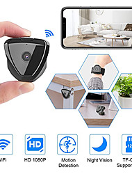 cheap -Mini Camera WiFi HD 1080P Mini Camera Wireless Camera Live Stream Motion Activated Camera Wireless Nanny Cam Security Camera for Home and Outdoor Newest Version