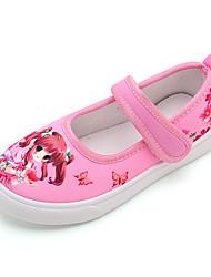 cheap -Girls' Comfort Canvas Flats Little Kids(4-7ys) / Big Kids(7years +) Purple / Pink / Blue Summer / Fall