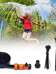 cheap -Trampoline Sprinkler Trampoline Spray Sprinkler Game Toys Water Toys Trampoline Accessories Funny Summer Sports Outdoor Outdoor Water Park All Boys and Girls Kid's Adults