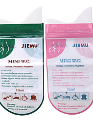 cheap -4pcs Emergency Convenient Urine Bag Disposable Outdoor Car Travel Emergency Child Adult Unisex Toilet Urine Vomiting Bags
