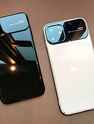 cheap -iPhone 11Pro Max Ultra-thin Glass Phone Case XS Max Anti-scratch Support Wireless Fast Charge 6 7 8Plus SE 2020 Protective Case