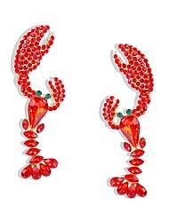 cheap -Women's Hoop Earrings Geometrical Precious Earrings Jewelry Gold For Daily 1 Pair