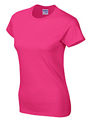 cheap -Women's Running T-Shirt Running Shirt Short Sleeve Quick Dry Comfortable Yoga Gym Workout Running Fishing Exercise & Fitness Sportswear Tee T-shirt Top Light Yellow Baby blue Mineral Green Cobalt